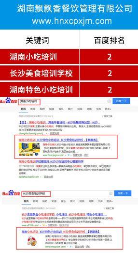 网站快速优化排名:湖南飘飘香餐....